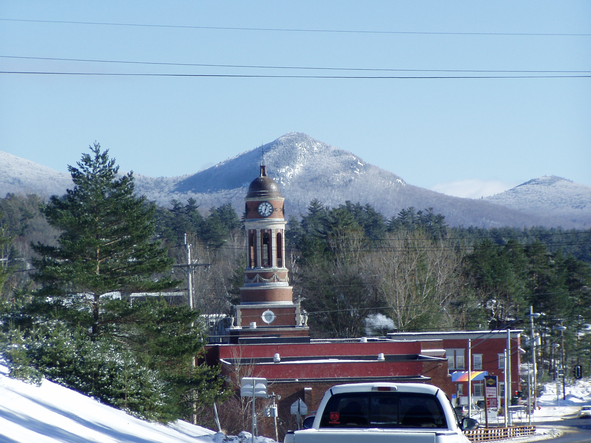 NY Route 3: The Olympic Trail: Saranac Lake Village, Ray